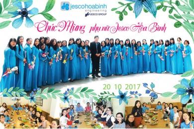 Chúc mừng chị em Phụ nữ JHE ngày 20/10/2017