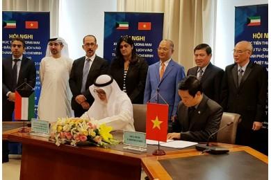 Hòa Bình ký kết hợp tác làm Tổng thầu các dự án của Chính phủ Kuwait