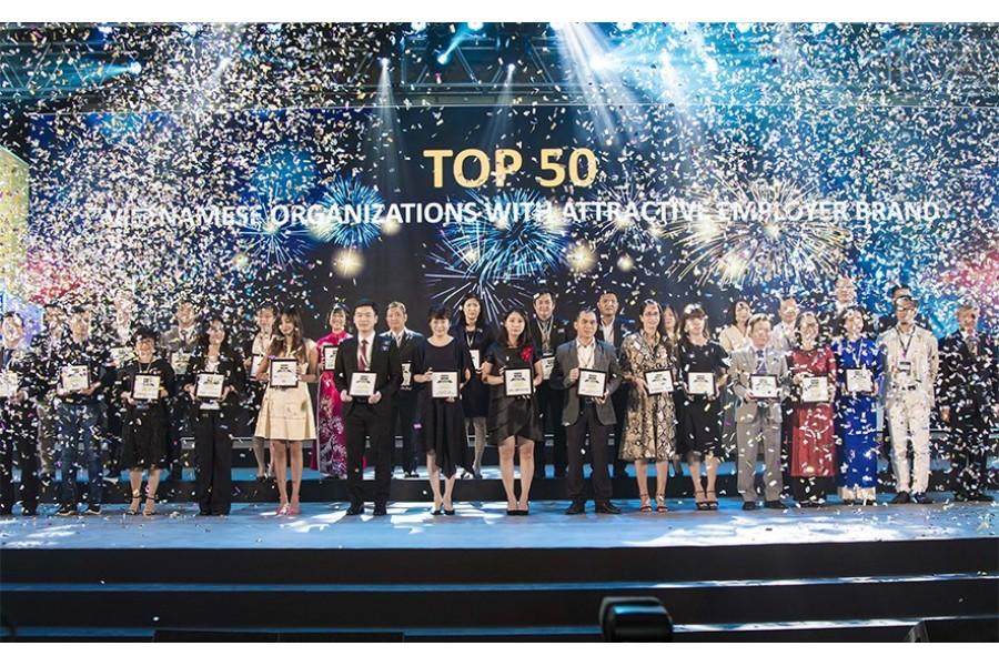Tập đoàn Xây dựng Hòa Bình 4 năm liêp tiếp đạt Top 100 Nơi làm việc tốt nhất