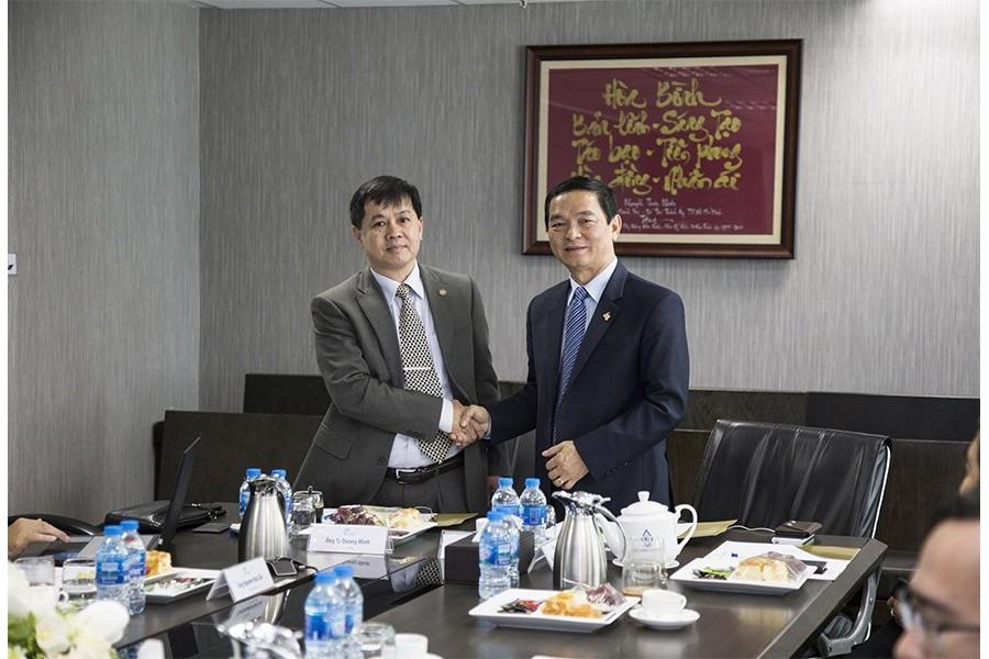 Tập đoàn Xây dựng Hòa Bình ký kết về sở hữu trí tuệ