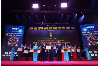 Hòa Bình đạt Danh hiệu Doanh nghiệp phát triển bền vững 2019