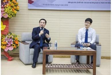 Tổng giám đốc Lê Viết Hải làm diễn giả chương trình Sáng tạo và Khởi nghiệp