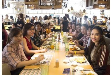 Tập đoàn Xây dựng Hòa Bình chúc mừng ngày 8/3 đến hơn 400 CBCNV nữ