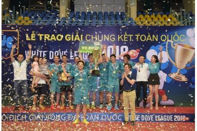 Tiến Phát vô địch giải bóng đá White Dove League lần 7 – 2018 toàn quốc