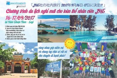 Chương trình du lịch hè 2017