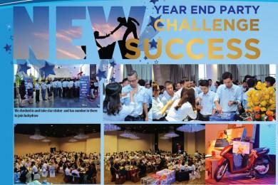 Liên hoan cuối năm và mừng thành công 2017