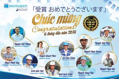 Khen thưởng nhân viên xuất sắc 6 tháng đầu năm 2018